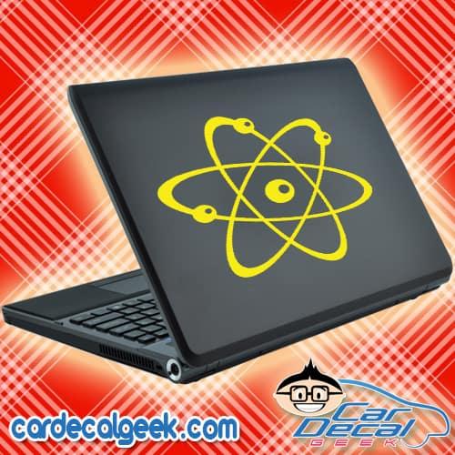 Atom Science Laptop MacBook Decal Sticker