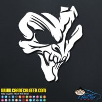 Awesome Creepy Skull Decal Sticker