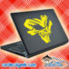 Awesome Creepy Skull Laptop MacBook Decal Sticker
