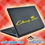 Classy Broad Laptop MacBook Decal Sticker