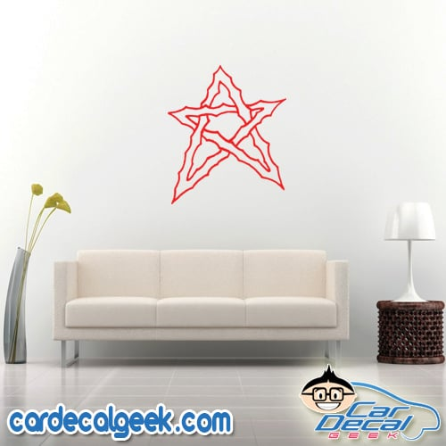 Cool-Star Wall Decal Sticker