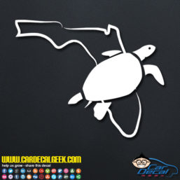 Florida Sea Turtle Decal Sticker