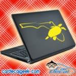 Florida Sea Turtle Laptop MacBook Decal Sticker