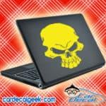 Freaking Scary Skull Laptop MacBook Decal Sticker