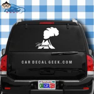 Hawaii Volcano Car Window Decal Sticker