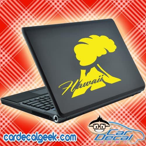 Hawaii Volcano Laptop MacBook Decal Sticker