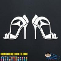High Heels Decal Sticker