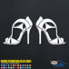 High Heels Decal Sticker
