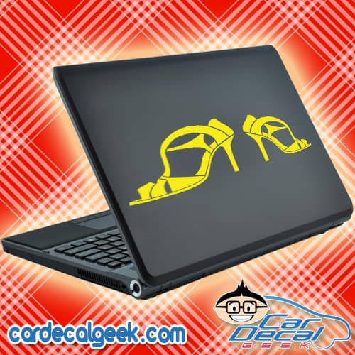 High Heels Laptop MacBook Decal Sticker