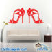 High Heels Wall Decal Sticker