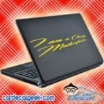 I am a classy motherfucker Laptop MacBook Decal Sticker