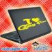 I Love Gay Porn Laptop MacBook Decal Sticker
