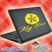 Key West Sand Dollar Laptop MacBook Decal Sticker