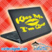 Kiss Me Im Gay Laptop MacBook Decal Sticker