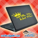 Little Miss Hot Mess Laptop MacBook Decal Sticker