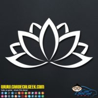 Lotus Flower Decal Sticker