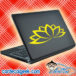 Lotus Flower Laptop MacBook Decal Sticker