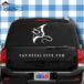 Manta Ray Car Window Decal Sticker