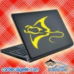 Manta Ray Laptop MacBook Decal Sticker