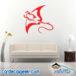 Manta Ray Wall Decal Sticker