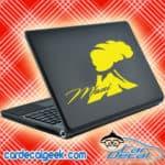 Maui Volcano Laptop MacBook Decal Sticker