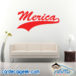 Merica Athletic Wall Decal Sticker