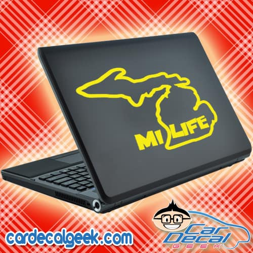 Mi Life Laptop MacBook Decal Sticker