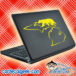 Michigan Bear Hunting Laptop MacBook Decal Sticker