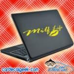 Milf Life Lips Laptop MacBook Decal Sticker