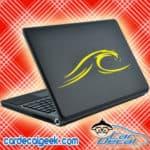 Ocean Wave Laptop MacBook Decal Sticker