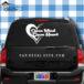 Open Mind Open Heart Car Window Decal Sticker