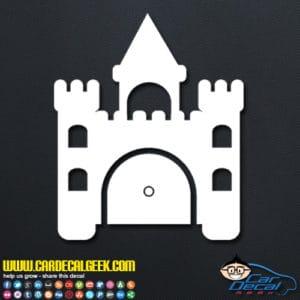 Princess Castle Decal Sticker