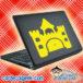 Princess Castle Laptop MacBook Decal Sticker