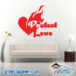 Protect Love Wall Decal Sticker