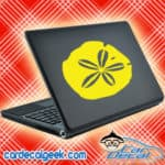 Sand Dollar Laptop MacBook Decal Sticker