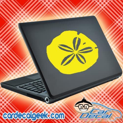 Sand Dollar Laptop MacBook Decal Sticker