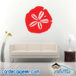 Sand Dollar Wall Decal Sticker