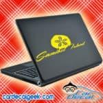 Sanibel Island Sand Dollar Laptop MacBook Decal Sticker