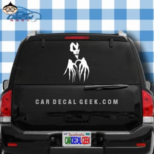Scary Skull Hands Car Window Decal Sticker