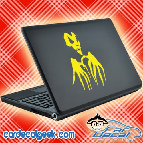 Scary Skull Hands Laptop MacBook Decal Sticker