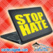 Stop Hate Laptop MacBook Decal Sticker