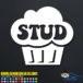 Stud Muffin Decal Sticker