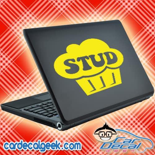 Stud Muffin Laptop MacBook Decal Sticker