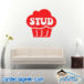 Stud Muffin Wall Decal Sticker