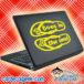 Toes In The Sand Flip Flops Laptop MacBook Decal Sticker