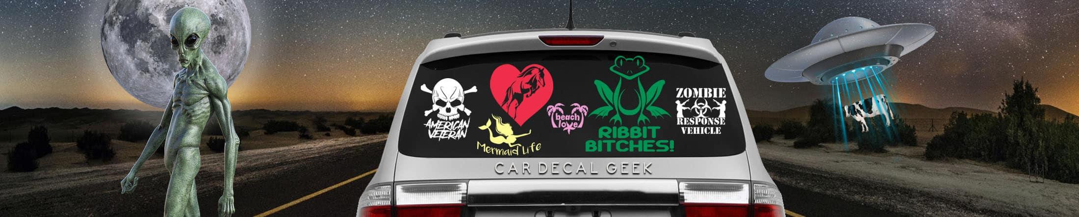 Car Decals Amp Window Stickers Wall Custom Vinyl Decals