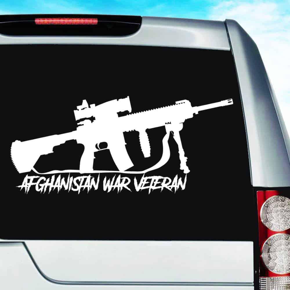Sticker Army Afghanistan Veteran Decal U.S