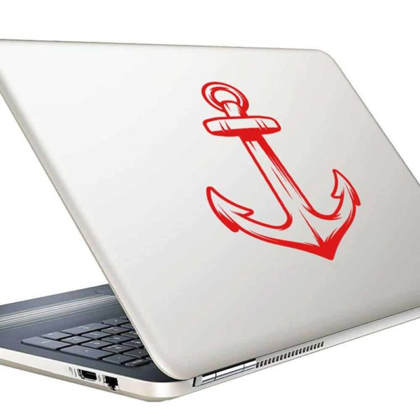 Anchor Vinyl Laptop Macbook Decal Sticker