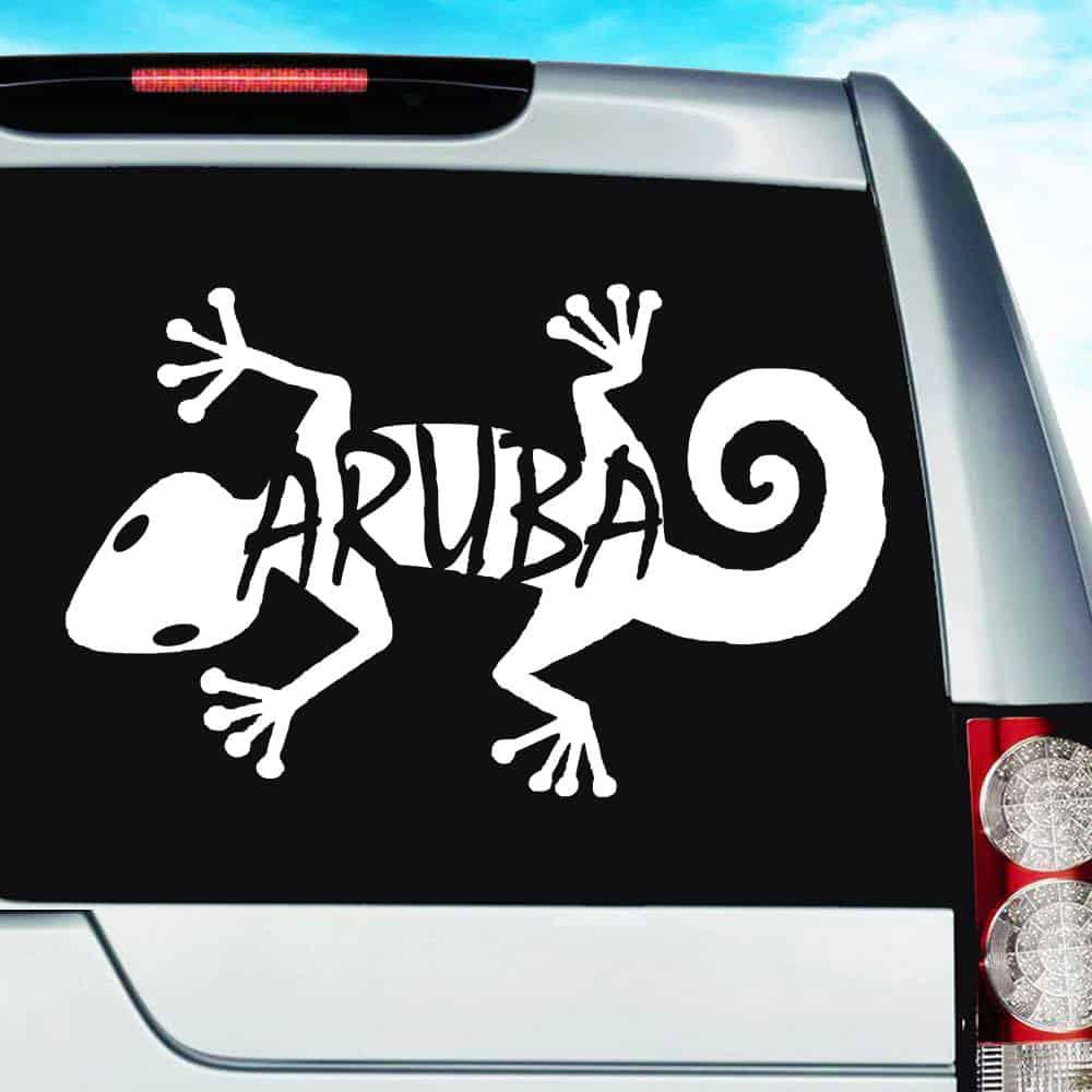 Lizard Car Vinyl Sticker SELECT SIZE