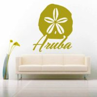 Aruba Sand Dollar Vinyl Wall Decal Sticker
